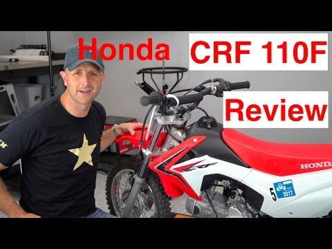 Honda CRF110 Review   Episode 259