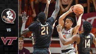 Florida State vs. Virginia Tech Basketball Highlights (2017-18)