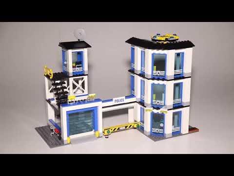 Lego City 60141 Police Station Speed Build