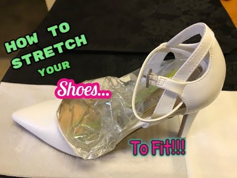 How To Stretch Your Shoes