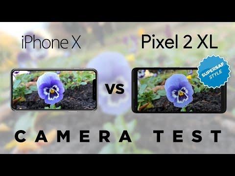 iPhone X vs Pixel 2 XL Camera Test Comparison