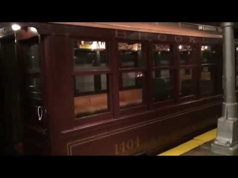 MY VISIT TO THE NEW YORK CITY TRANSIT MUSEUM IN BROOKLYN HEIGHTS, BROOKLYN IN NEW YORK CITY.