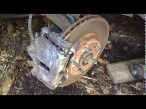 How to change front brake pads Ford Mondeo. Years 2000 to 2010