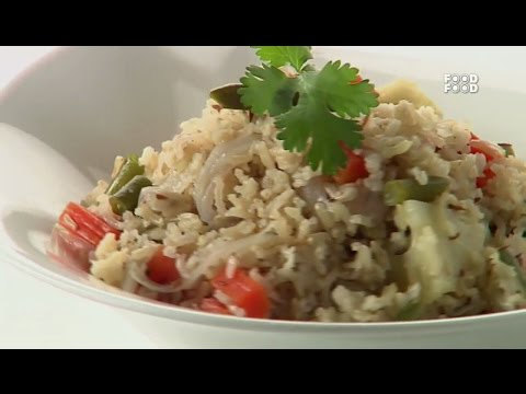 Sanjeev Kapoor Kitchen | Brown Basmati Pulao Recipe | Master Chef Sanjeev Kapoor