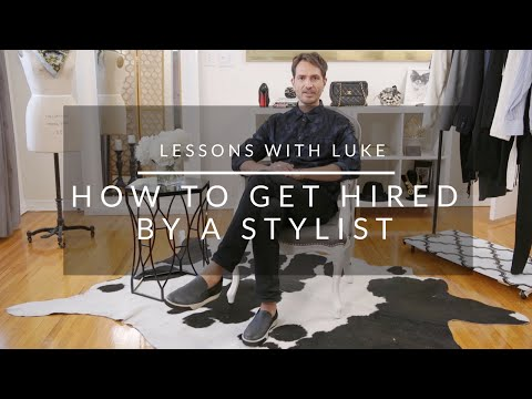 How To Get Hired As A Styling Assistant