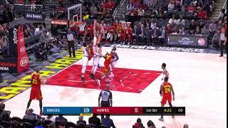 1st Quarter, One Box Video: Atlanta Hawks vs. New York Knicks