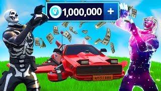so i spent 1,000,000 v-bux in Fortnite...