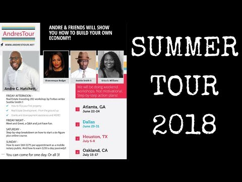 Freedom Friday. Summer Tour 2018. Knowing your Power with Andre Hatchett