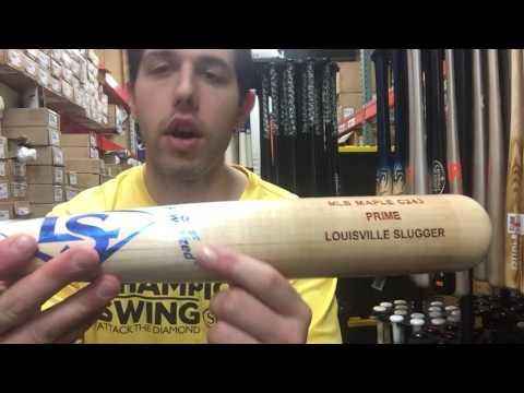 Closeoutbats.com Louisville C243 High Gloss Barrel Natural Handle Wood Bat WTLWPM243A16