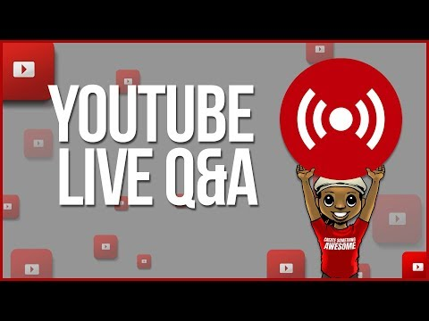 🔴 HOW TO GET STARTED ON YOUTUBE IN 2018 STEP BY STEP [YOUTUBE LIVE Q&A]