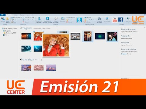 UE21 Tutorial Windows Live Photo Gallery 2015 + (Noticias Dommo, Windows 8 y Google Search Image)