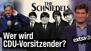 CDU Vier Kandidaten Und Ein Beinahe Todesfall Extra 3 NDR