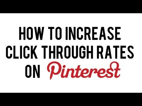 How to Increase Pinterest Click Through Traffic | How to Boost Sales Via Pinterest