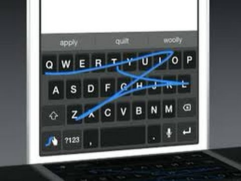 Swype keyboard For IOS 8