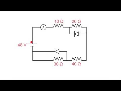 DC diode calculation