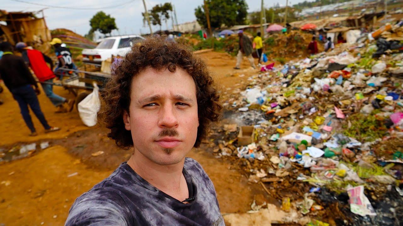 La dura vida dentro del barrio pobre más grande de Africa | Kibera, Kenia 🇰🇪