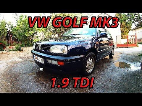 НАЈПРОДАВАНИОТ АВТОМОБИЛ ВО ЕВРОПА - VW GOLF MK3 1.9 TDI (REVIEW)