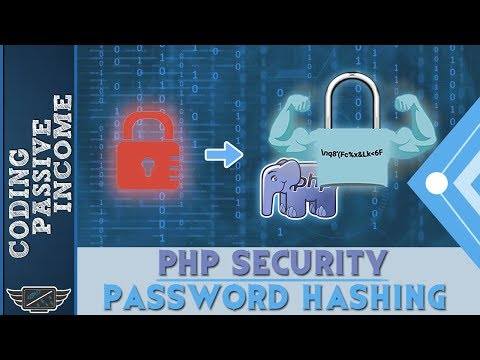 PHP Security And Password Hashing Tutorial - Register & Login Form