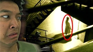 Granny IN REAL LIFE *SCARY* HELP ME ESCAPE!