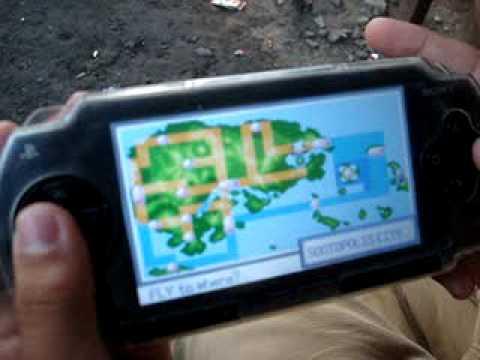 Pokemon Emerald in PSP
