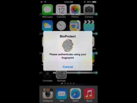 How to install BioProtect for FREE ios 7