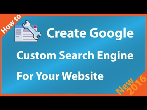How to Create Google Custom Search Engine
