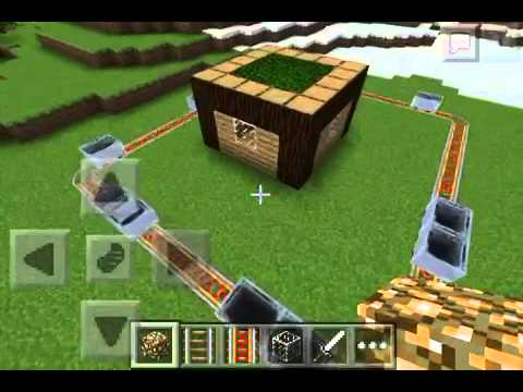 Minecraft pocket edition:How to protect your house