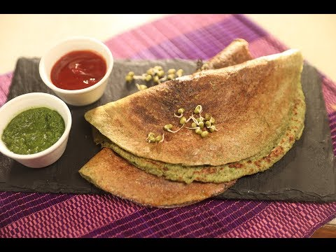 Moong Dal Cheela | Family Food Tales with Mrs Alyona Kapoor | Sanjeev Kapoor Khazana
