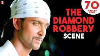 Scene: Dhoom:2 | The Diamond Robbery | Hrithik Roshan