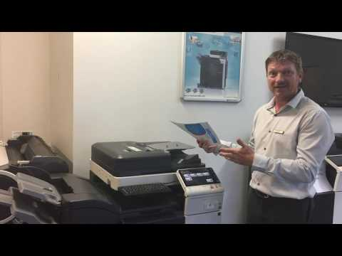 Konica Minolta Scan and Print Simultaneously