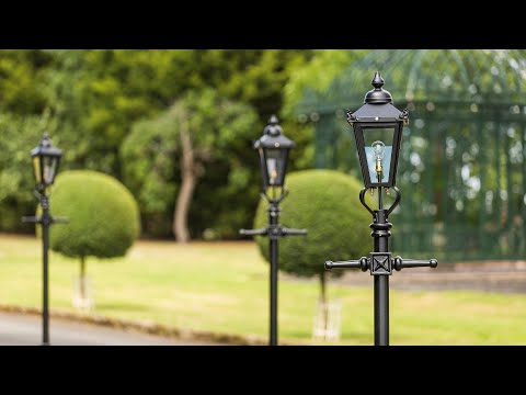 Victorian Lamp Posts Explained - Rochester 3.4metre