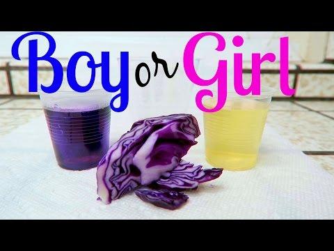 BOY or GIRL - RED CABBAGE GENDER TEST!