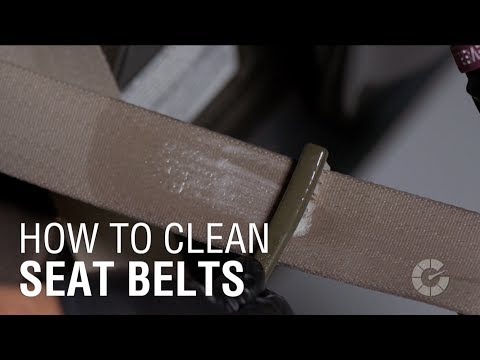 How To Clean Seat Belts | Autoblog Details