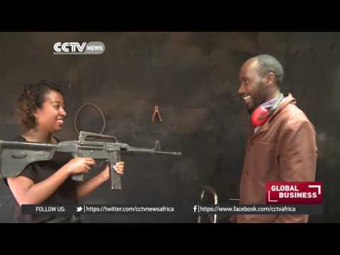 Kenyan entrepreneur finds creative way to build film equipment and props