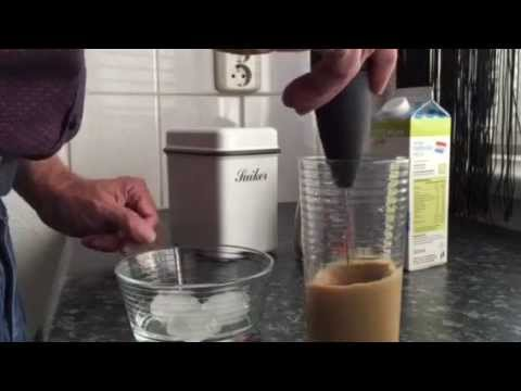 How to make Iced Coffee (Frappe) in 2 minutes
