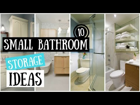 10 Small Bathroom Storage Ideas That Will Transform A Tiny Space