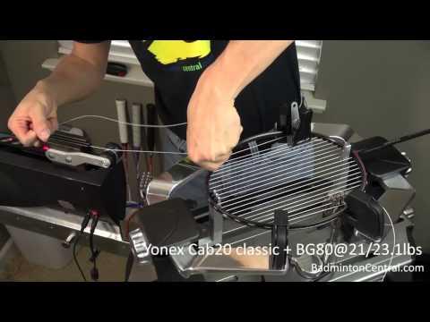 Yonex Carbonex 20 + BG80@21/23.1lbs - Badminton Stringing