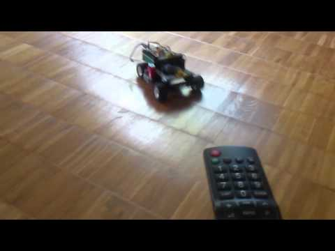 lego car controlled by tv remote