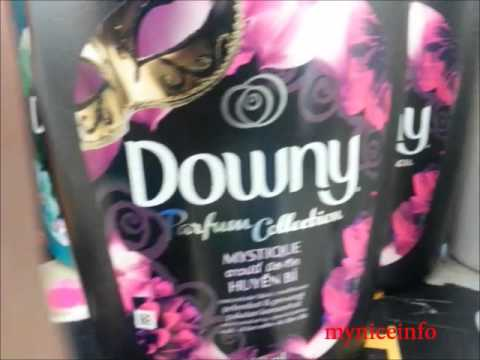 Types of downy fabric softener