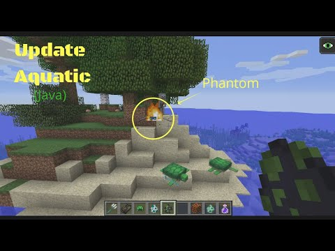 Minecraft Java 18w14a Update Aquatic