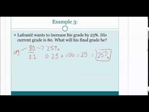 Unit 7 Fractions Decimals Percents Student Video Presentation