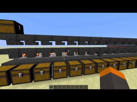 Minecraft Auto-Storage System Tutorial! [Works in 1.9]