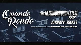 "Quando Rondo - ""From the Neighborhood to the Stage"" Tour Trailer"