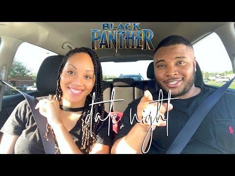 VLOG   Black Panther Date Night