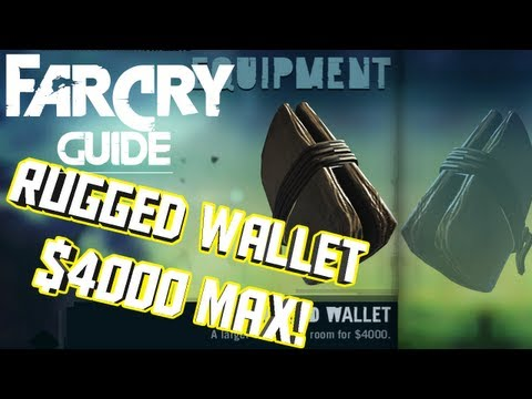 How To Make The Rugged Wallet - Far Cry 3