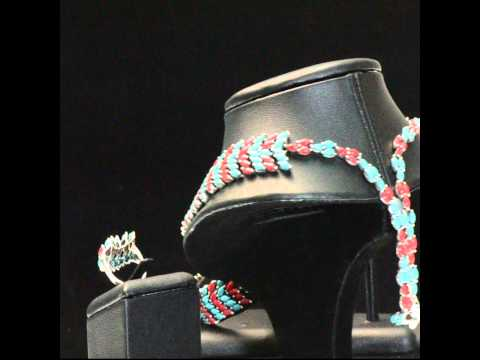 Natural Turquoise Coral Indian-style Scale Necklace Earrings Ring Set 925 Silver