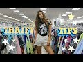 How to Thrift Like A Pro | THRIFTING TIPS