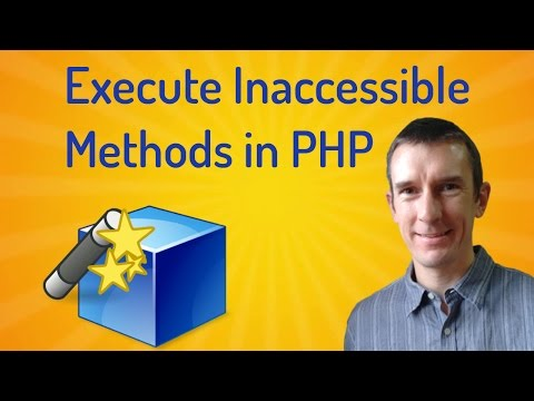 The __call magic method: how to call inaccessible methods in a PHP class