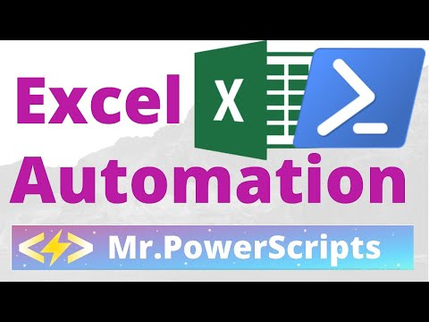 Manipulate Excel Workbooks and Worksheets with Powershell - Powershell Automation