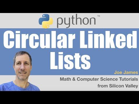 Python: Circular Linked Lists